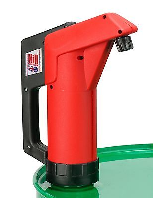 Hill Pumps Hand Lever Barrel / Drum Pump For Lubricating & Cutting Oils, Diesel
