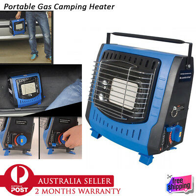 NEW Portable Butane Gas Heater Camping Tent Hiking Outdoor Gas Camper Companion