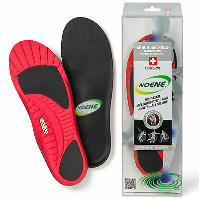 Noene Atlas Carbon Reinforced Ultimate Professional Arch Support Sports Insoles