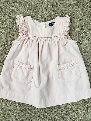 Baby Gap Pink Cord Dress And Bloomer Baby Girl 3-6 Months