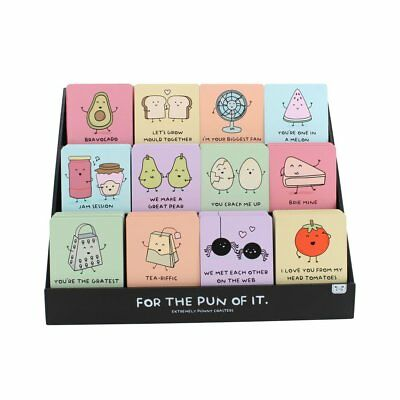 For The Pun Of It Single Coasters - Funny Gift - Fun Quotes & Images