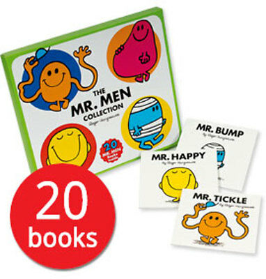 The Mr. Men Collection: 20 Books in a Box