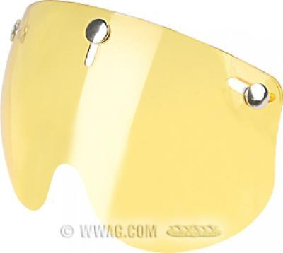 Pantalla Amarilla para casco JET SHORTY Fixed Yellow Visor BANDIT