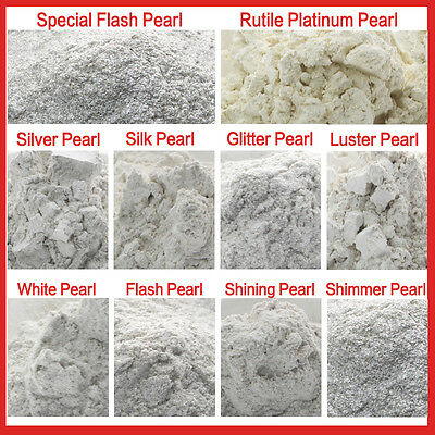 50g Platinum Pearl Cosmetic Grade Natural Mica Powder Soap Candle Colorant