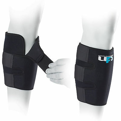 UP Ultimate Shin Splint Adjustable Triple Strapped Warming Neoprene Calf Support