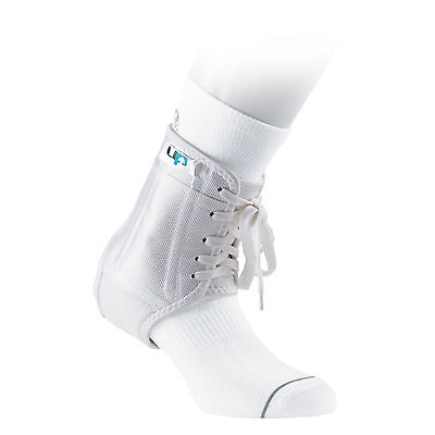 UP Football Rugby Specific Boot Premium Anti-Twist Ankle Support Brace White