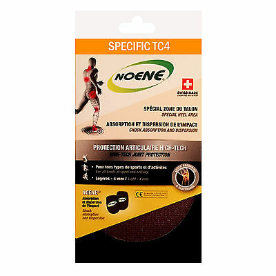 Noene Advanced 4mm Thick Shock Absorbing Premium Joint Care Runners Heel Pads