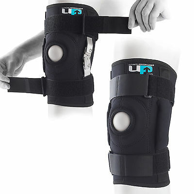 UP Premium Tri Axle Hinged Tailored Custom Strapped Knee Support Sleeve Brace