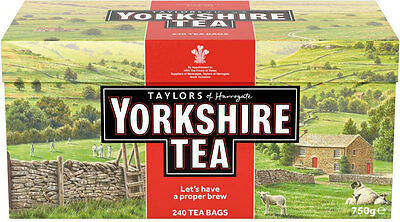 Taylors Of Harrogate Yorkshire Tea 240 Teabags