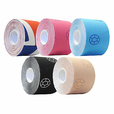 CMS Medcial Professional Kinetic Kinesiology K Muscle Tape Various Colours 5cm