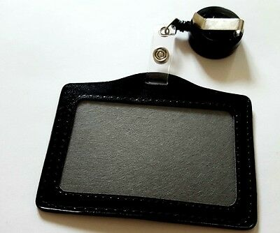 Id CARD HOLDER &BADGE REEL NHS POLICE,SECURITY -RETRACTABLE PHOTO IDENTITY PASS