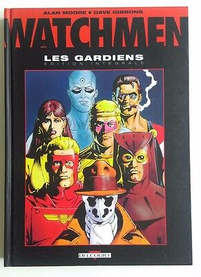 Watchmen, Intégrale des 6 tomes  Alan Moore/Dave Gibbons Delcourt
