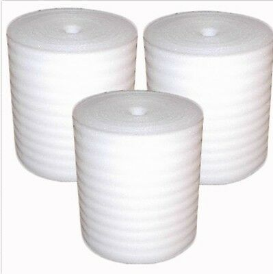 "1/16"" Foam Wrap Packaging Roll Perforated 24"" X 625' Per Roll Free Ship!"