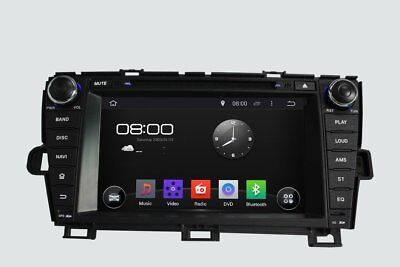 Octa Core Android 6.0 Car Stereo DVD GPS Player Sat Navi for Toyota Prius 09-13