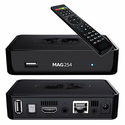 Genuine Original MAG 254 With 1 Month Best IPTV subscription, Top Box By Infomir