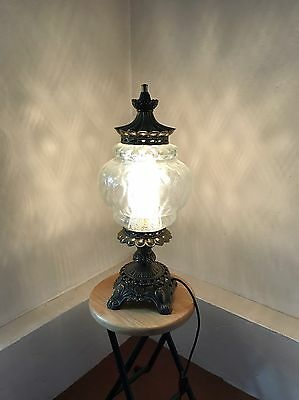 DECORATIVE DISTINCTIVE TABLE LAMP 1970s (58cm high)