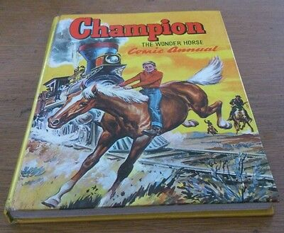 Champion The Wonder Hores Annual 1950S