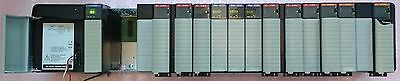 Fully Functional (tested) 17 Slot Allen Bradley SLC Rack 1756-A17, and PSupply