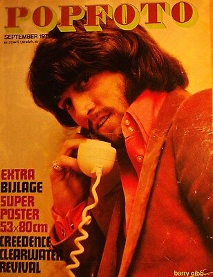 1 dutch cover clipping BARRY GIBB BEE GEES N. SHIRTLESS 1971 SINGER BOYS BOY