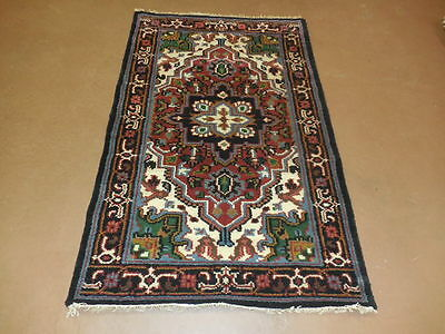 3.2x5.2  BREATHTAKING HAND MADE WOOL PERSIAN  SERAPI HERIZ VEG DYES RUG