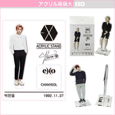 EXO ACRYLIC STAND k-pop SM - Product planning MADE by kokokorea