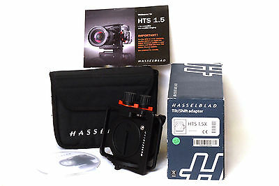 Hasselblad H-System HTS 1.5X Tilt/Shift Adapter Ex Demo Nuovo Scatolato