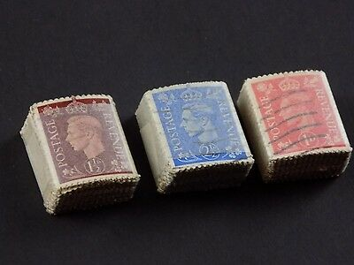 GVI Bundleware 100 Stamps, Unchecked, George VI 6th
