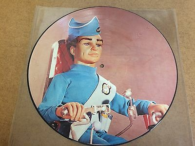 """Gerry Anderson - No Strings Attached  12"""" Picture Disc Captain Scarlet,stingray"""