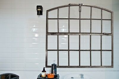 Large Old Industrial Cast Iron Window Bar