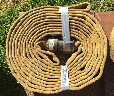 "Red Head Fire Hose 2.5"" x 50'"