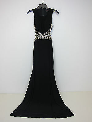 460bea9f5b3 BLONDIE NITES JUNIORS Black And Silver Dress- Size 11 (With Tags ...