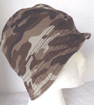 Carter's Toddler Boy's Hat Size 9 Months Camouflage 100% Cotton, Fast Shipper