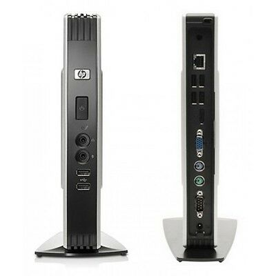 HP T5740 Thin Client. Intel Atom 1.66GHz, 1GB RAM, 2GB Flash, XPe + Stand + PSU
