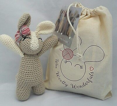 Giant Mabel Bunny Crochet Kit by Wool Couture | 362x400