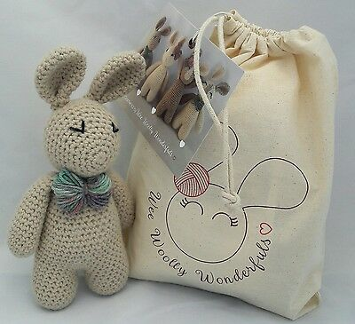 Crochet Kit - Arthur Bunny Rabbit Luxury Kit - Learn to crochet beginner kit