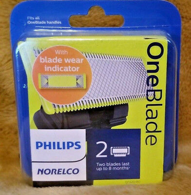 Philips Norelco OneBlade Replacement Blade, 2 Count , QP220/80