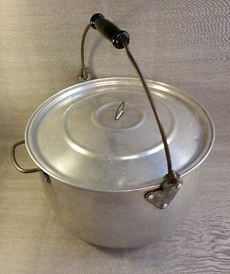 VINTAGE Wear Ever 16 Quart Aluminum Stock Pot No 126 With Lid