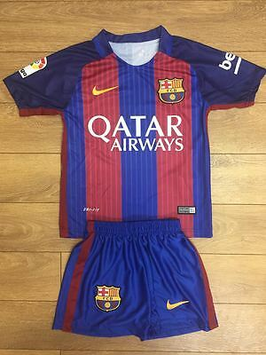 Nike Barcelona Child kit Messi Football shirt all sizes are available