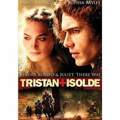 Tristan and Isolde FULL SCREEN WITH SLIP COVER JAMES FRANCO USED VERY GOOD DVD