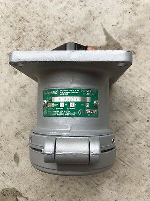 Appleton ADR6034 Powertite Receptacle 60A 3W4P Pin&Sleeve NEW