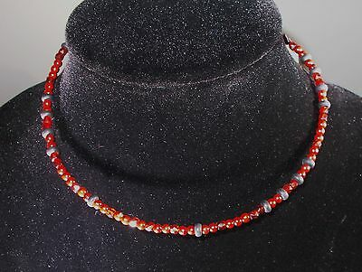 48 New Rebecca Malone Beaded Chokers Red, Black and Red Crystal, 1 size fits all