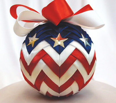 Ornamental Accents American Spirit Ribbon Ornament Kit