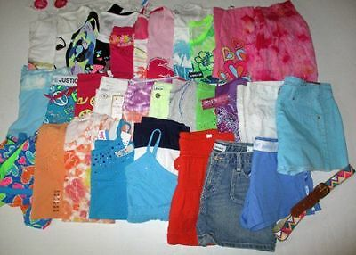 NWT NEW GIRLS Sz 16 Summer OUTFITS Clothes LOT SHORTS TOPS & MORE RV = $604 Wow!