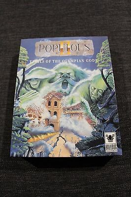 Populous 2 Trials of the Olympian Gods Amiga Game by Bullfrog