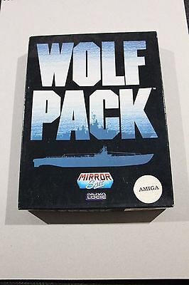 Wolf Pack Amiga Game Mirror Soft Nova Logic