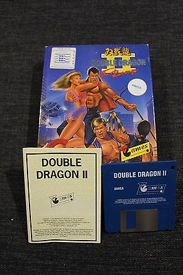 Double Dragon II 2 The Revenge Amiga Game by Virgin Games