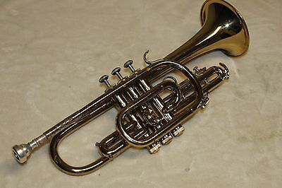 Bundy Cornet, Bach design, Selmer Co. with case and mouthpiece