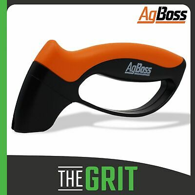 AgBoss 10 Second Knife & Tool Sharpener For Knives Axes Machetes Clevers