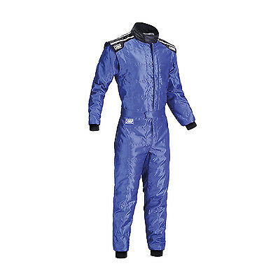 OMP KS-4 blue Karting Suit (with CIK FIA homologation) - Genuine - M