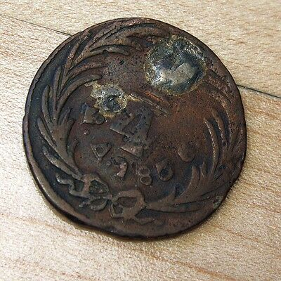 1836 Mexico 1/4 Real Ex-Jewelry